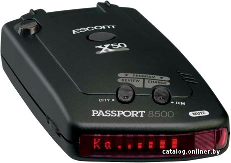 >Escort Passport 8500 X50 INTL
