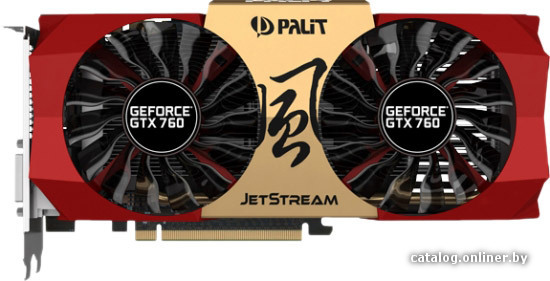 >Palit GeForce GTX 760 JETSTREAM 2GB GDDR5 (NE5X760H1042-1042J)