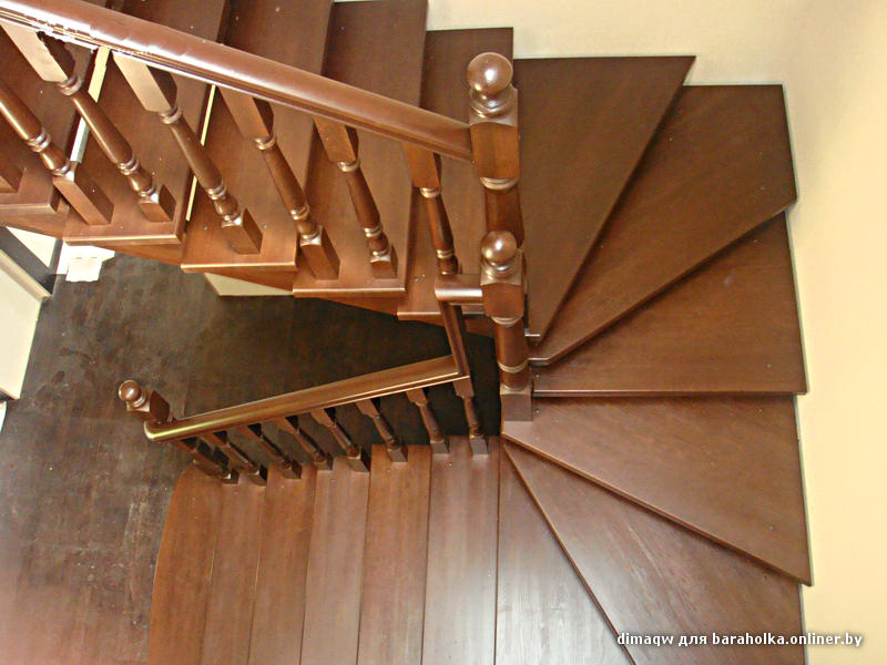 Своими руками лестницу с забежными ступенями