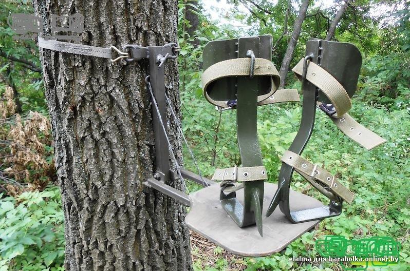 Когти для лазания по деревьям своими руками