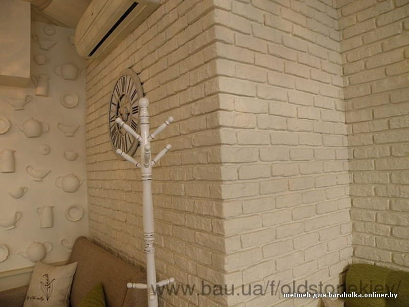 Как сделать имитацию кирпича на стенах