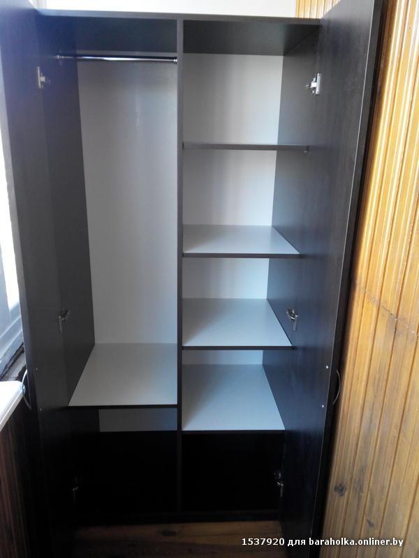 Шкаф двухстворчатый новый, фото 1 минск slanet.