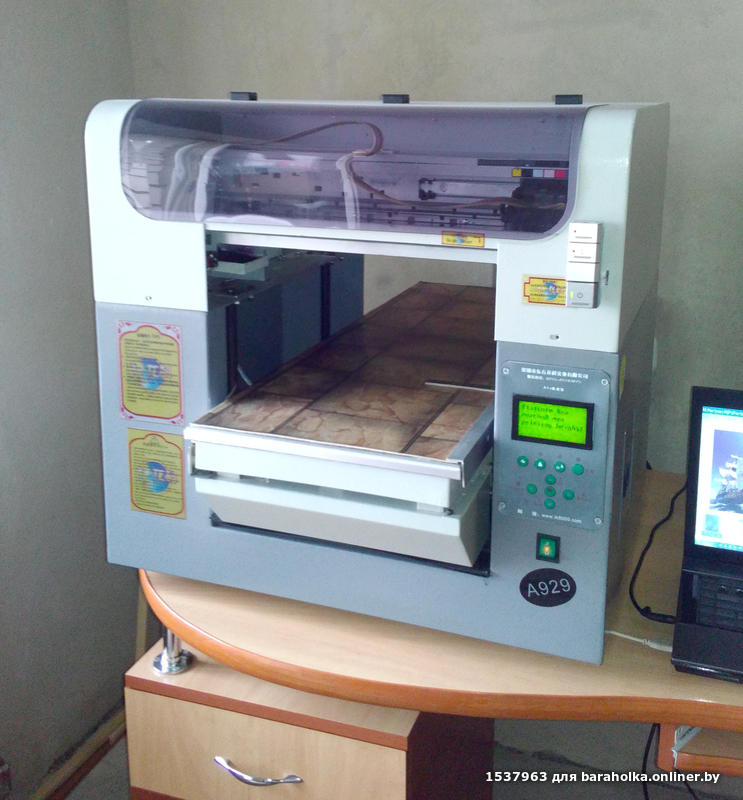 Принтер для нанесения рисунка на металл