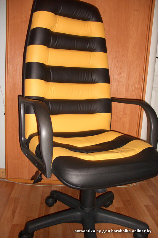 Как перетянуть компьютерное кресло своими руками 40