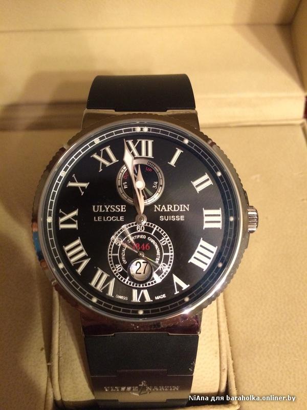 Часы Ulysse Nardin: отзывы покупателей Как отличить