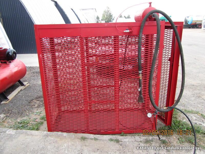 продам шиномонтажную клетку для накачки грузовых колес. - Барахолка onliner.by