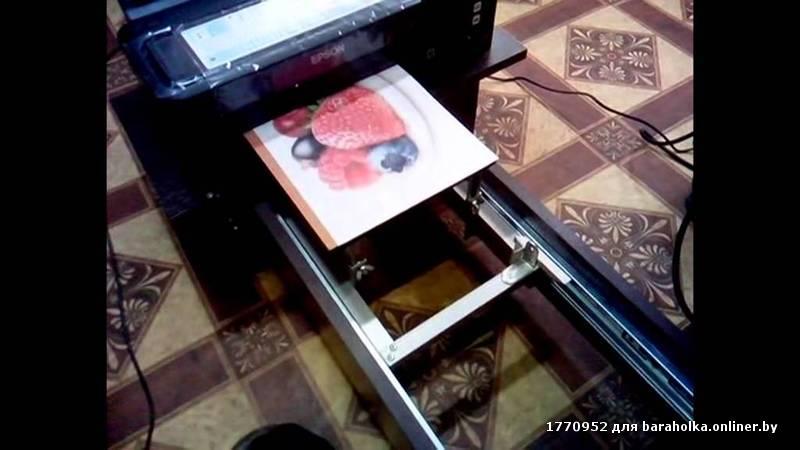 Как сделать планшетный принтер