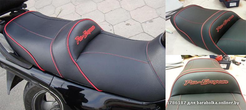 Мотоцикл перетяжка сиденья своими руками