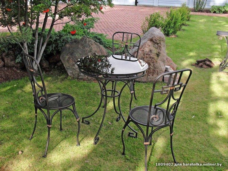 Кованная мебель для дачи и сада