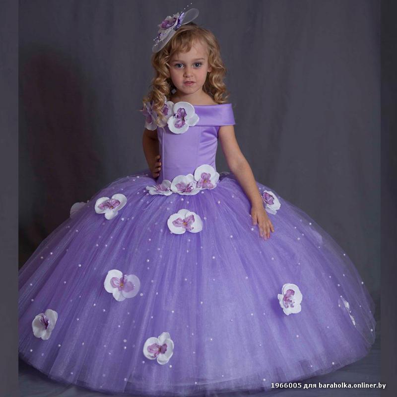 Бальные платья для девочек 6-7 лет на выпускной в детском саду
