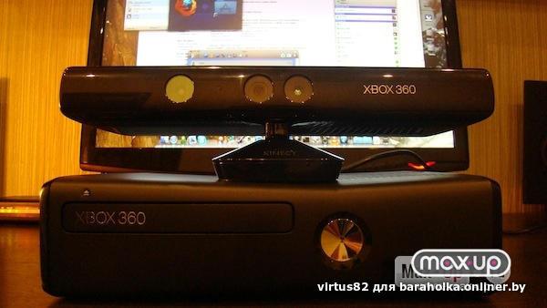 X-box-360 slim, 250 гб, wi-fi, в комплекте кинект, беспроводной джойстик, прошита, новая, с игровыми дисками, 30 шт