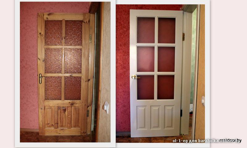 реставрация белых межкомнатных дверей как сделать своими руками обновление