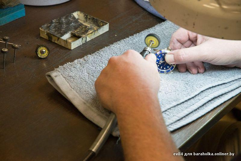 Полировка стекла на часах в домашних условиях