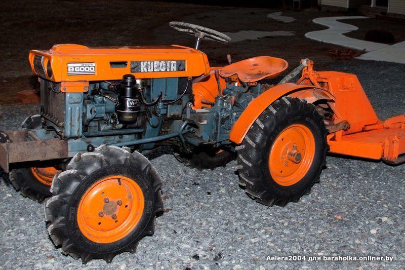 Traktor kubota m7060