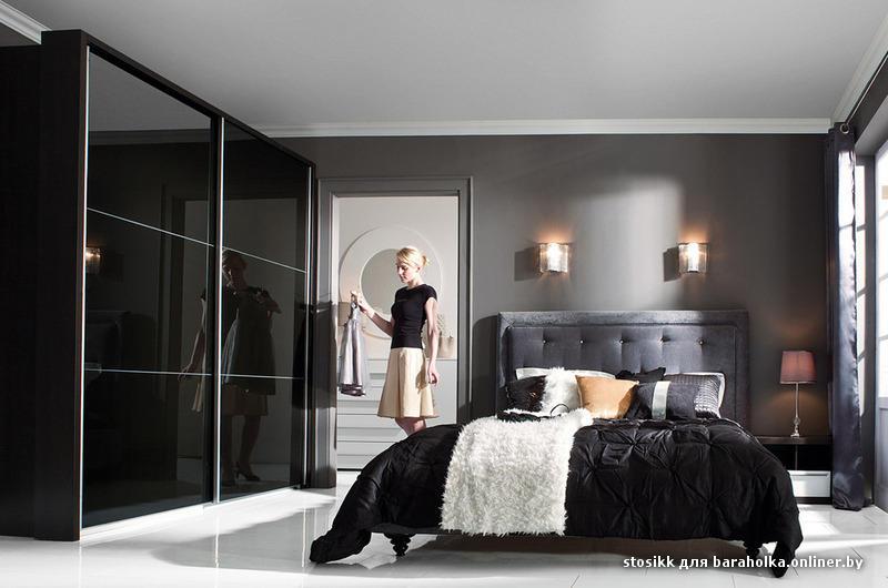 Шкафы купе дизайн в спальню белые