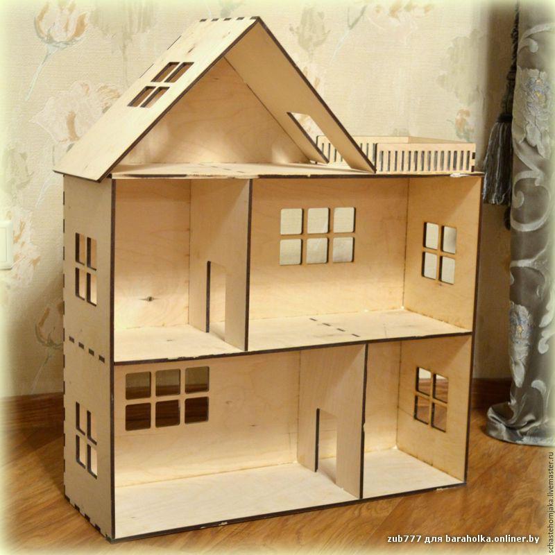 Кукольные домики из фанеры своими руками