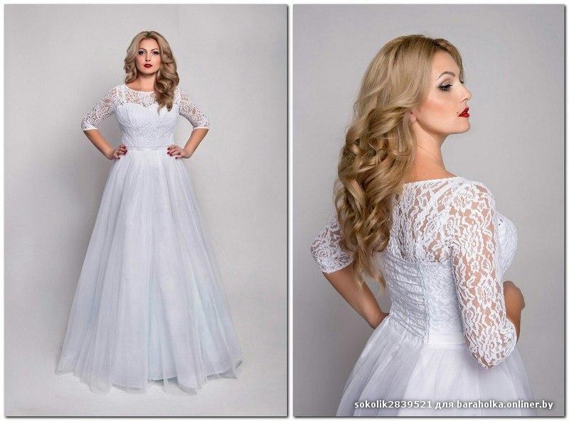 Свадебные платья размер 54-56