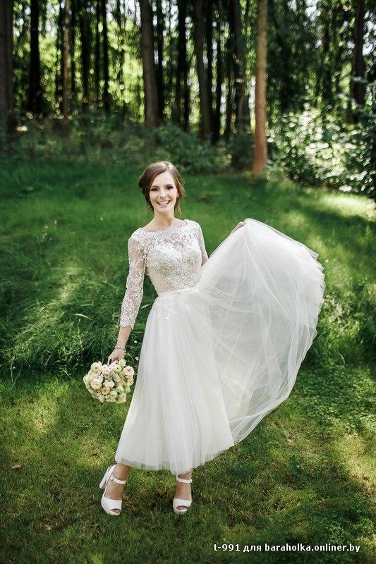 Фото свадебных платьев для миниатюрных девушек