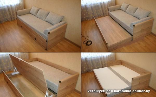 Детская диван кровать своими руками