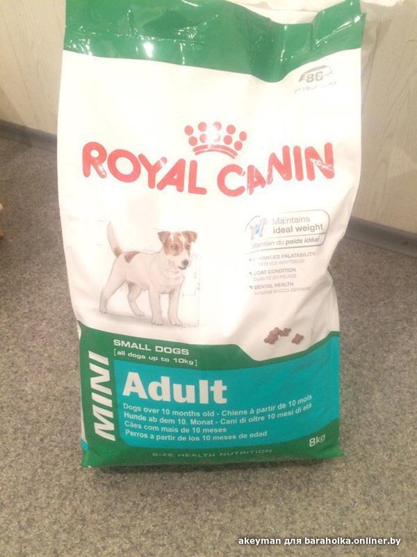 Корм royal canin во франции