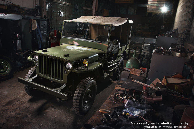 Paaren im glien germany may 26 car willys m38a1 us army jeep
