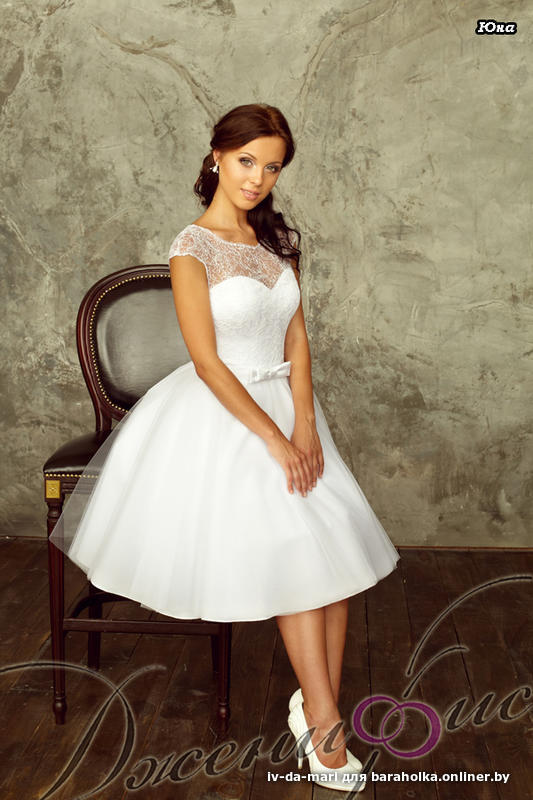Свадебные короткие платья в минске и цены