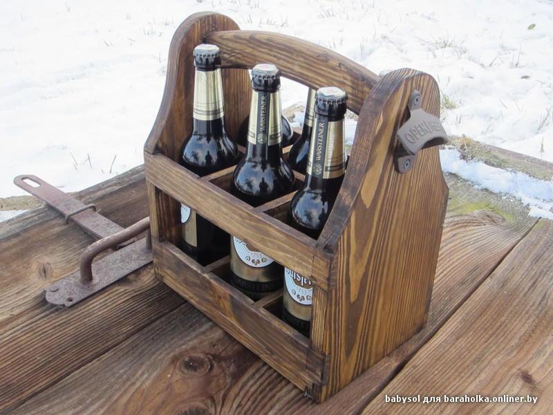 Ящик переноска для пива 252