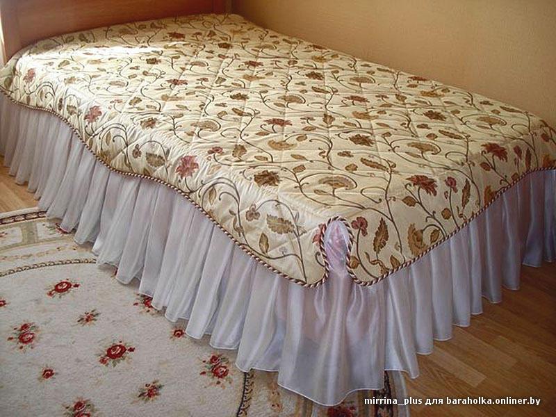 Из какой ткани сшить для покрывало