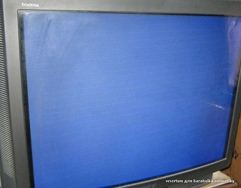 Телевизор сони тринитрон 72 см схемы по ремонту