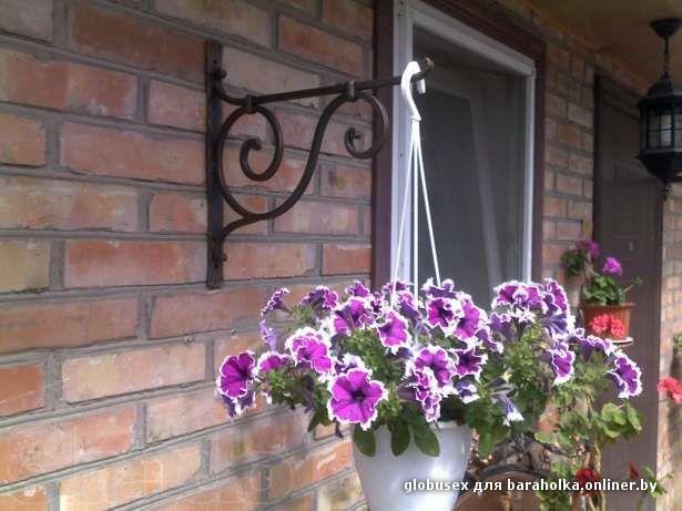 Декоративные балконы для цветов..