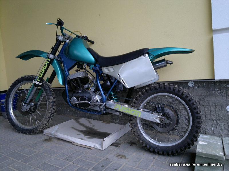 Мотоцикл кросс своими руками