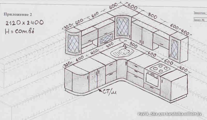 как спроектировать кухню самому