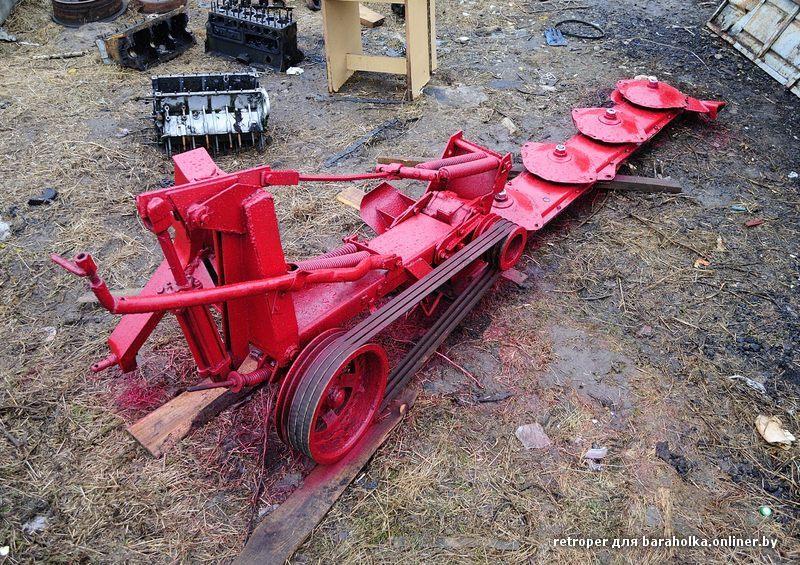 Как сделать роторную косилку к трактору своими руками