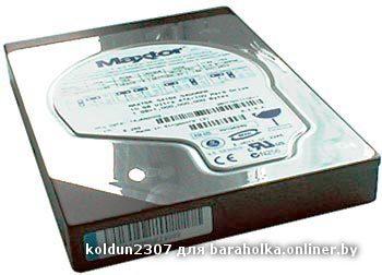 Maxtor 2b020h1 с обратной стороны