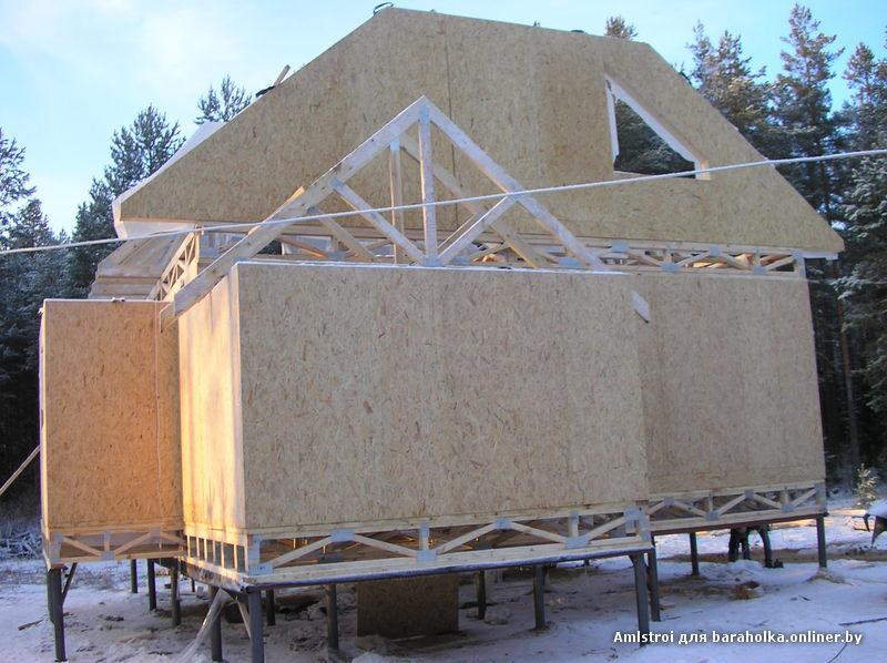 Каркасные дома (канадская технология строительства деревянных домов