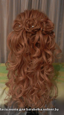 Свадебные прически на длинные волосы дома фото