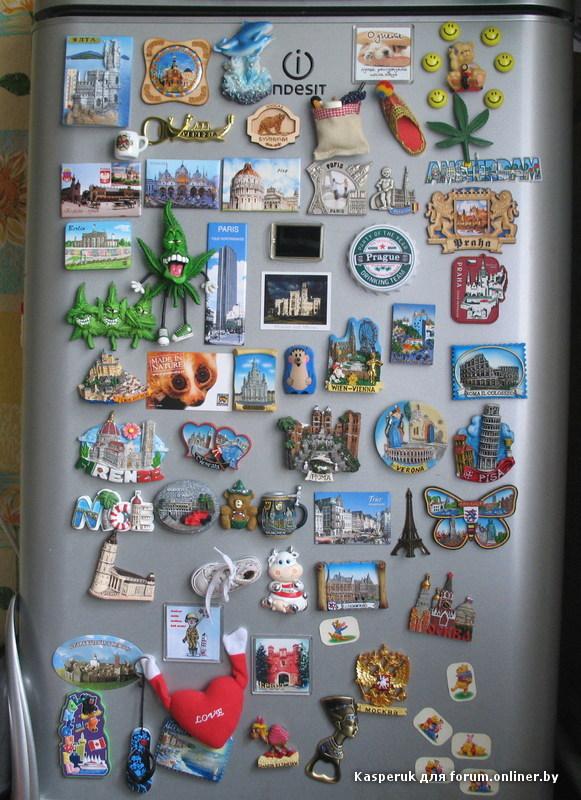 Как сделать магнитик для холодильника