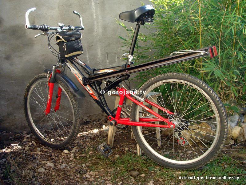 Багажник для велосипеда своими руками фото