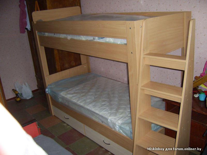 Сделать кровать из дсп для ребенка