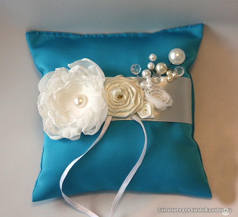 Подушка для колец на свадьбу своими руками фото 62