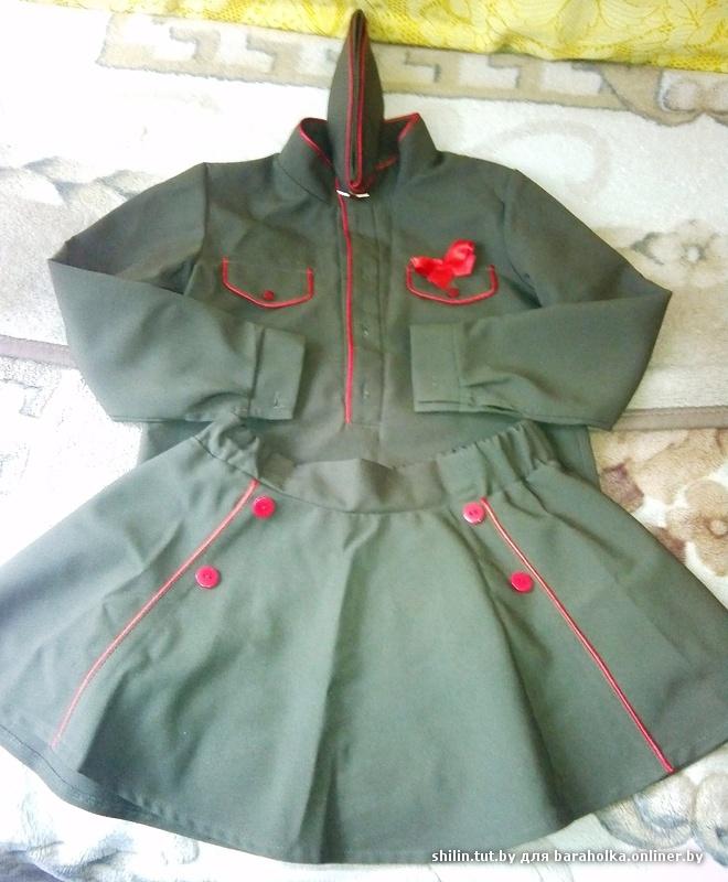 Военный костюм ребенку своими руками