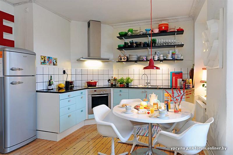 Интерьер простой кухни фото