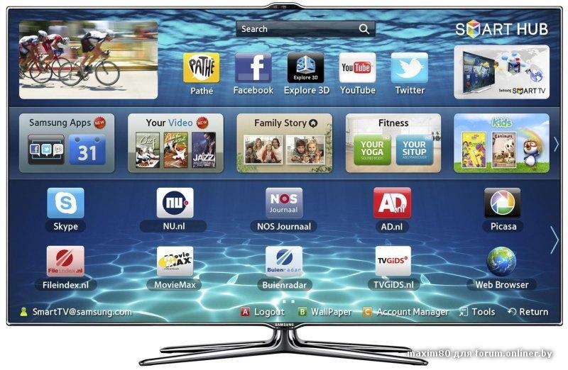 Как подключить телевизор Samsung к интернету по кабелю 57