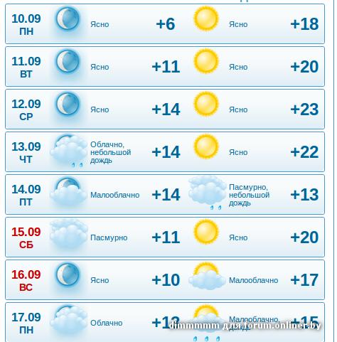 Ну и погода в Москве - Прогноз погоды на завтра