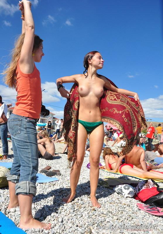 Фото репортаж с нудистского пляжа