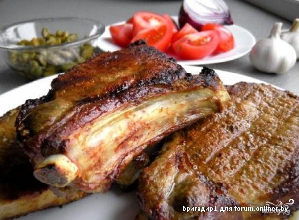 Как приготовить в духовке мясо гриль в духовке