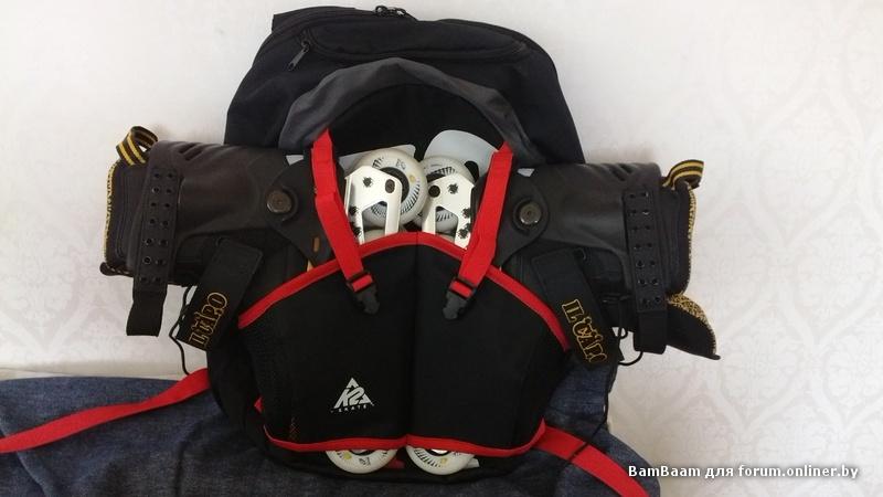 Крепить ролики рюкзак рюкзак nordway discovery 30