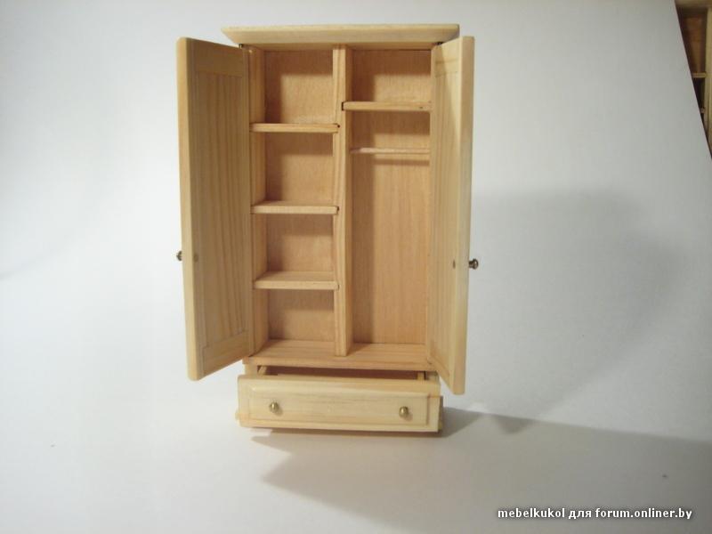 Шкаф из дерева своими руками для кукол