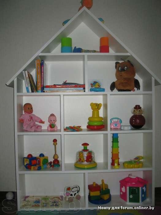 Детские стеллажи для игрушек фото