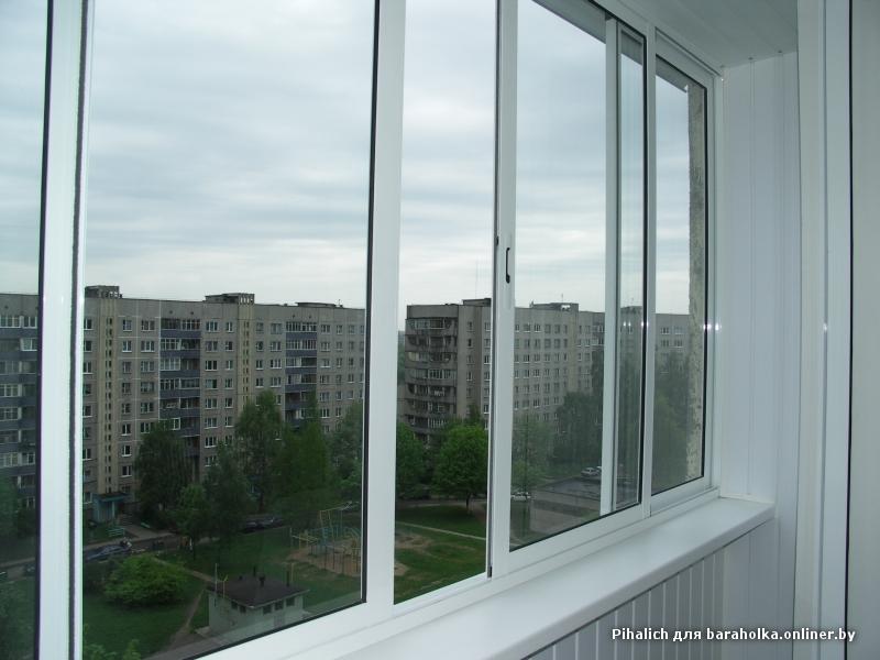 Раздвижные алюминиевые рамы ! отделка (обшивка) балконов ....